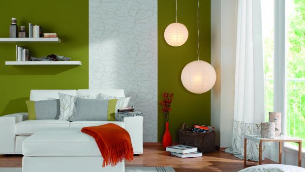 """""""Stiltalent"""" heißt ein Konzept von Toom, das als vorgefertigte, aber dabei völlig frei einsetzbare Komplettlösung angeboten wird: Selbermacher finden innerhalb von vier Stilwelten eine abgestimmte Auswahl an Produkten von der Wandfarbe bis zum Teppich."""