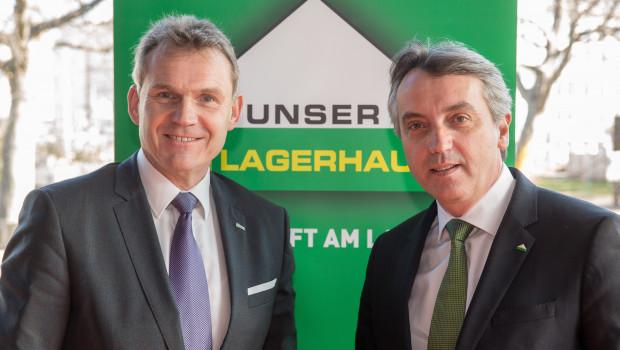 Stefan Mayerhofer (l.), RWA-Vorstandsmitglied, und Thomas Marx, AFS-Geschäftsführer, beim gestrigen Pressegespräch in Wien.