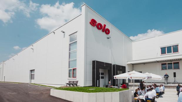 Am vergangenen Freitag hat Solo sein neues Betriebsgebäude offiziell eingeweiht.