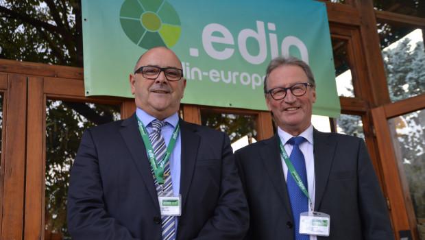 Lucien Hardt (l.) und Simo Manner haben zusammen das neue Netzwerk Edin gegründet.