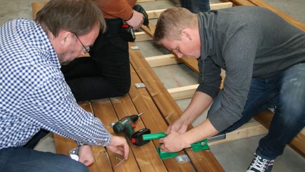 Die Hagebau forciert Arbeit mit Holz- und WPC-Belägen im Außenbereich.