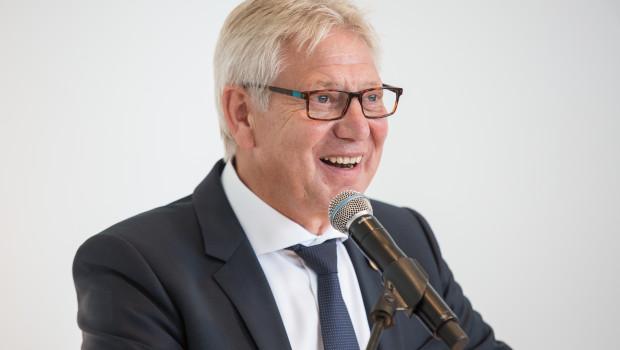 Der GWS-Gründungsgeschäftsführer Helmut Benefader wurde in den Ruhestand verabschiedet.