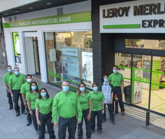 Der erste spanische Leroy Merlin Express befindet sich in Madrid.