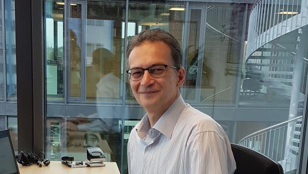 """Saim Cicek, der neue Logistikleiter der Sagaflor, ist sich sicher: """"Der Erfolg der Sagaflor steht im direkten Verhältnis zur Performance der Logistik."""""""