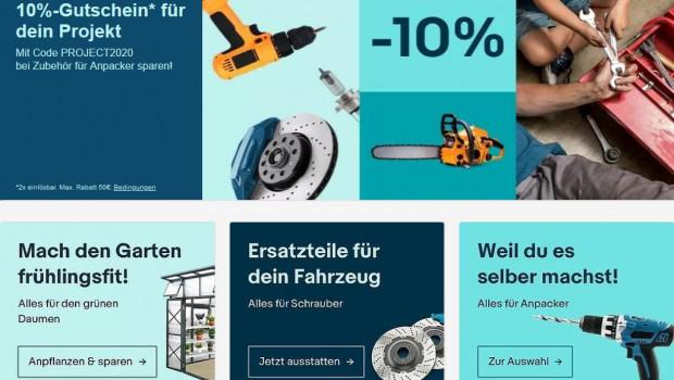 Eine Online-Umfrage von Ebay beweist, dass Deutsche tatsächlich Heimwerker sind. Umfrage-begleitend hat Ebay eine Rabattaktion gestartet.