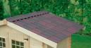Dachplatte im Ziegeldesign
