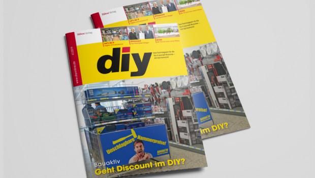 Die Juni-Ausgabe des Fachmagazins diy ist jetzt erschienen.