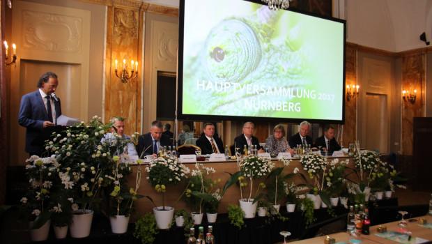Die Hauptversammlung der Sagaflor fand in diesem Jahr in Nürnberg statt.