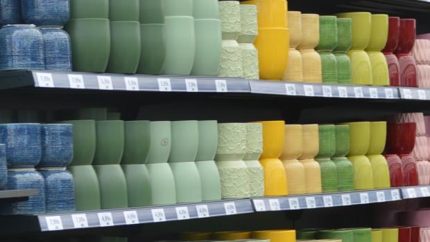 Pflanzgefäße bilden das wichtigste Segment im Markt für Gartenausstattung. Keramik und Kunststoff liegen dabei gleichauf.