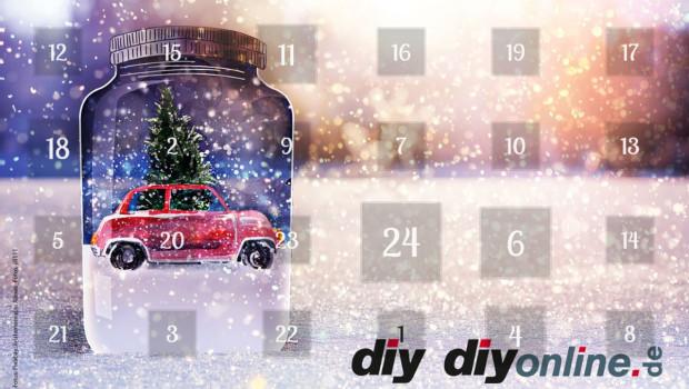 Vergnügliches Warten aufs Christkind: Nach der guten Resonanz zur Premiere gibt es in diesem Jahr wieder einen diyonline.de-Adventskalender. Heute wird das erste Türchen aufgemacht.