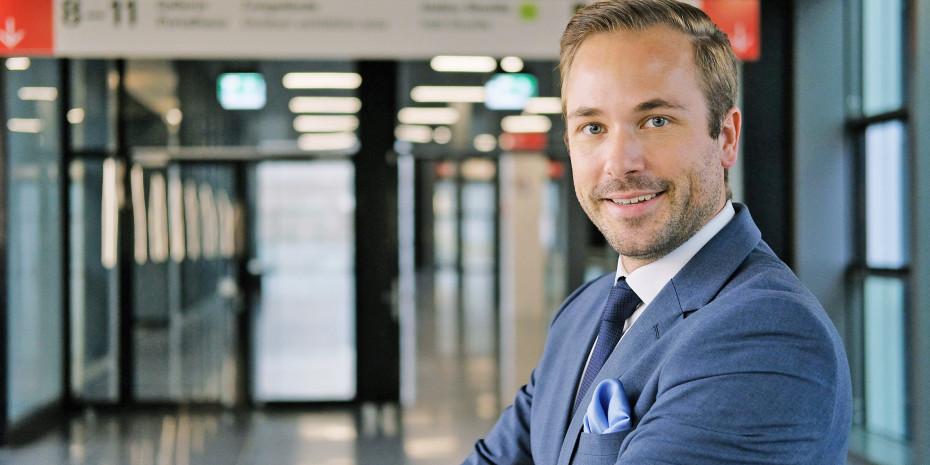 Philipp Ferger, Bereichsleiter Tendence, Messe Frankfurt
