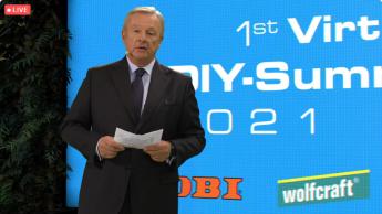 """1st Virtual DIY-Summit 2021: """"Händler und Hersteller müssen zusammenarbeiten"""""""