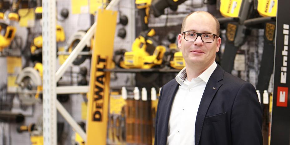 Peter Abraham, Leiter des Bereichs Einzelhandel, Eurobaustoff.