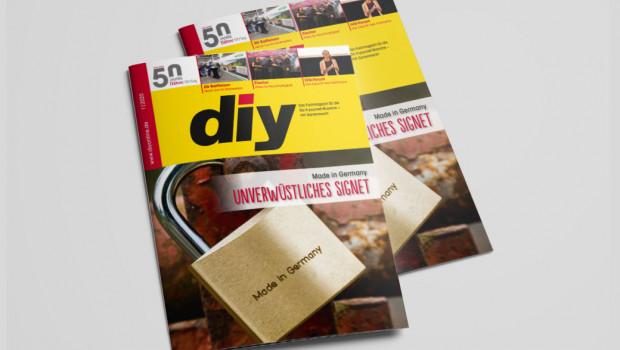 """""""Made in Germany"""" ist das Titelthema der von diy 1/2020."""