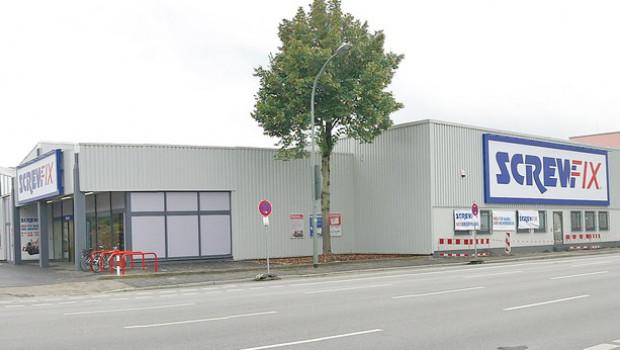 Screwfix betreibt derzeit 13 Filialen in Deutschland.
