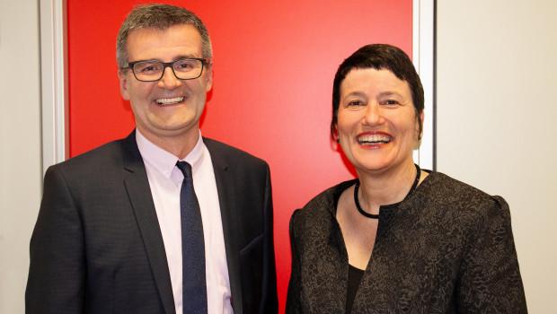 Der neue Vorstand der Egesa-Zookauf eG: Birgit-Zelter Dähnrich (Vorstandsvorsitzende) und Jens Bluhm.