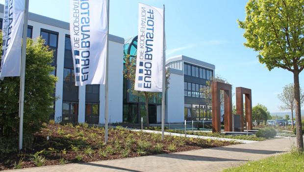 Blick auf die Eurobaustoff-Zentrale in Bad Nauheim.