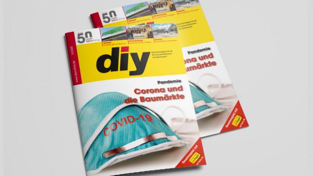 Auf dem Titel von diy 5: Corona.
