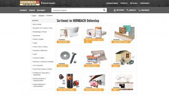 Top 20 Onlineshops: Hornbach mit stärkstem Wachstum