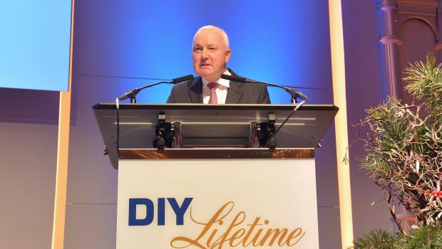 Ehrung in Köln: John Herbert wurde mit dem DIY-Lifetime-Award ausgezeichnet.
