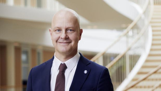 Lars Petersson, Chef der Hempel-Gruppe, will in nachhaltigere Anstrichlösungen investieren.