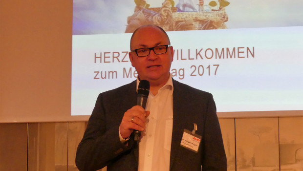 """""""Digitalisierung ist eine Riesenchance"""": Dr. Wolfgang Hergeth, Geschäftsführer der Al-Ko Gardentech."""