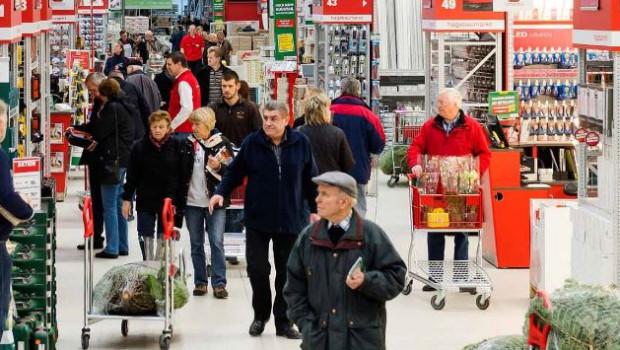 Die Verbraucher gehen immer seltener in den Baumarkt, geht aus der jüngsten Vuma-Erhebung hervor.