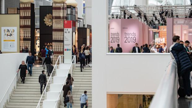 Rund 136.000 Einkäufer aus 166 Ländern besuchten die Ambiente in Frankfurt.