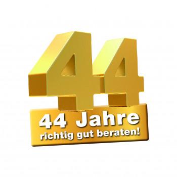 Jubiläum mit Schnapszahl: Hellweg startet eine Werbekampagne zum 44. Geburtstag.