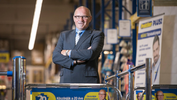 Geschäftsführer und Mitinhaber von Praktiker Ungarn, Karl-Heinz Keth