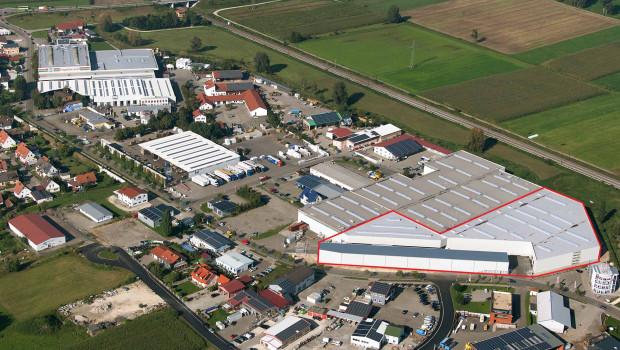 Hagebau-Logistik Zentrallager Burgau