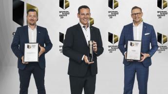 Fischer holt fünf Auszeichnungen beim German Brand Award