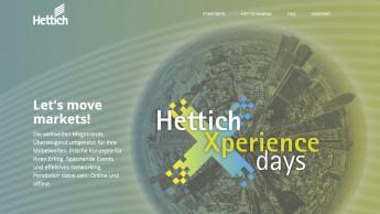 """Online-Registrierung für """"HettichXperiencedays"""" ab sofort möglich"""