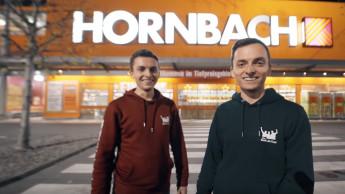 """""""Richtig geile Aktion"""" von Hornbach mit den Real Life Guys"""