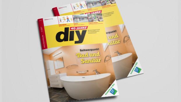 Neu erschienen ist das Fachmagazin diy 11/2017
