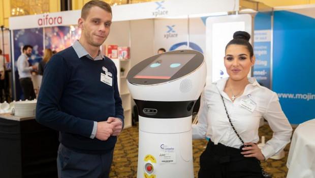 Eines der Ausstellungsfelder der Retail World: Neue Technologien für den POS.