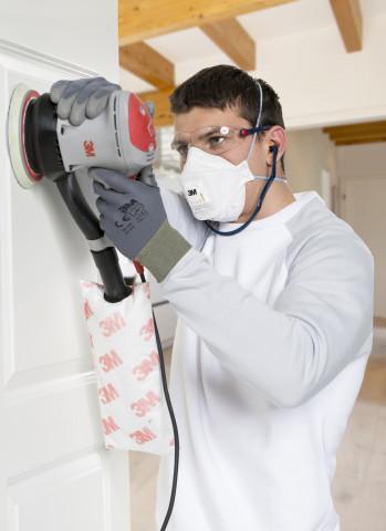 So ist's richtig: 3M, der Auftraggeber der Studie, bietet eine große Bandbreite an Arbeitsschutzprodukten.
