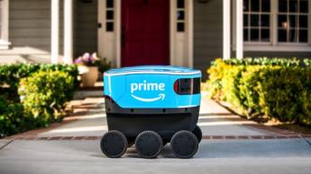 Amazon führt selbstfahrende Lieferroboter ein
