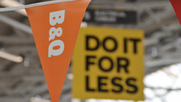 Die B&Q-Märkte in Großbritannien und Irland haben 3,390 Mrd. GBP umgesetzt und damit 2,8 Prozent weniger als im Vorjahr.
