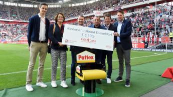 Henkel spendet 8.500 Euro an den Kinderschutzbund Düsseldorf