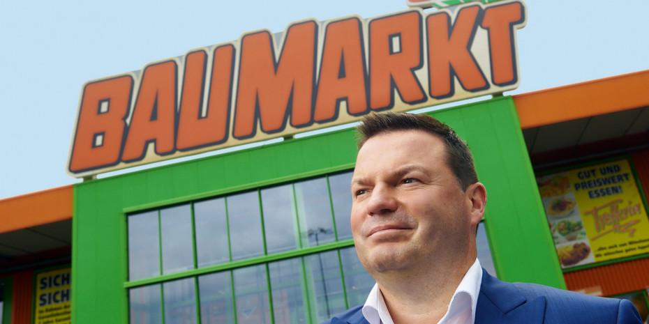 Timo Huwer führt seit Jahresbeginn 2020 die Globus Baumärkte.