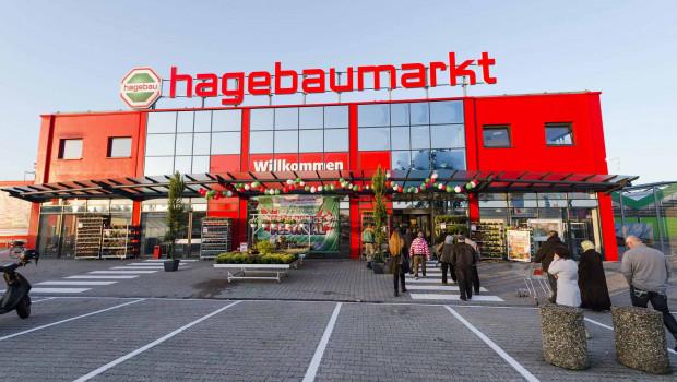 Die Hagebaumärkte haben ihren Verkaufsumsatz gesteigert.