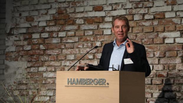 Freut sich über die Auszeichnung: Uwe Eifert, Geschäftsführer Marketing/ Vertrieb von Hamberger Flooring.