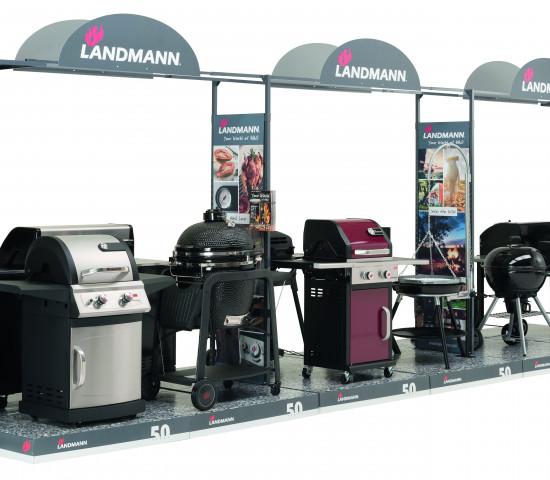 Landmann, Shop-in-Shop-Aufbauten
