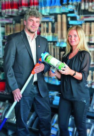 Nespoli-Geschäftsführer Michael Reuter und Marketingleiterin Andrea Fischer
