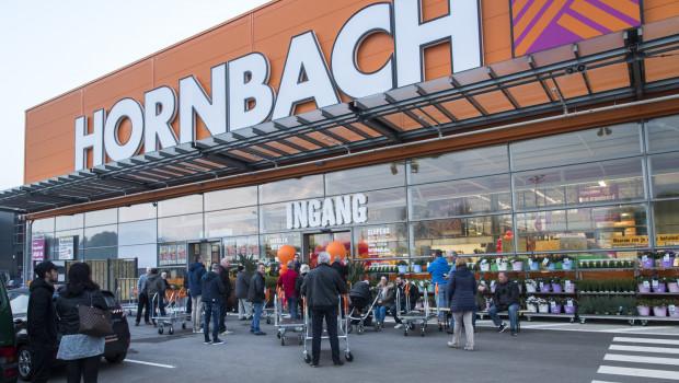 Die Hornbach-Märkte im Ausland - hier der jüngste Standort in Den Haag - tragen überproportional zur Umsatzsteigerung des Baumarktbetreibers bei.