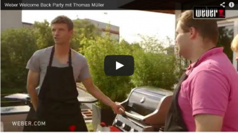 Thomas Müller Welcome Back Party