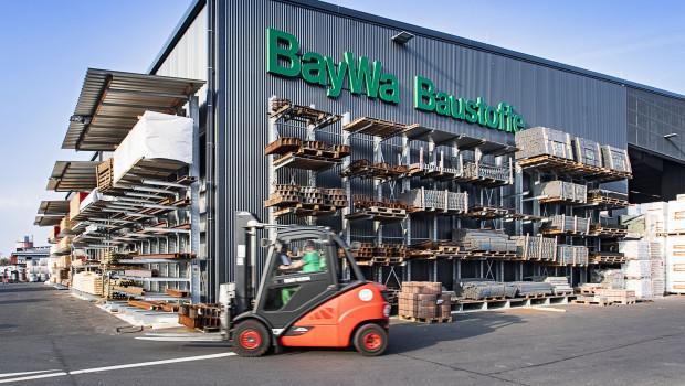 Die Baywa-Baustoffstandorte konnten auch während der Lockdowns weiter öffnen.