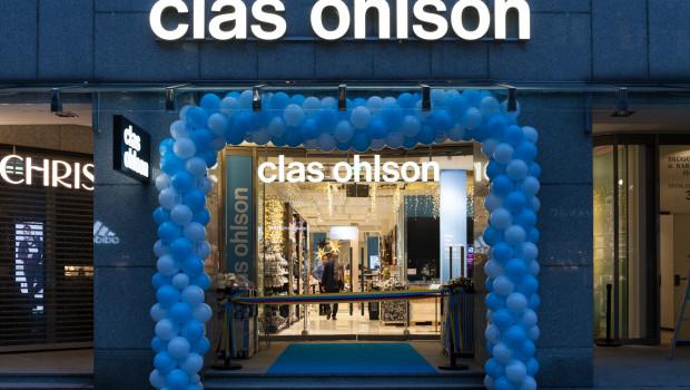 Clas Ohlsons vierter Hamburger Markt befindet sich in der Spitalerstraße, einer der höchstfrequentierten Lagen der Stadt.