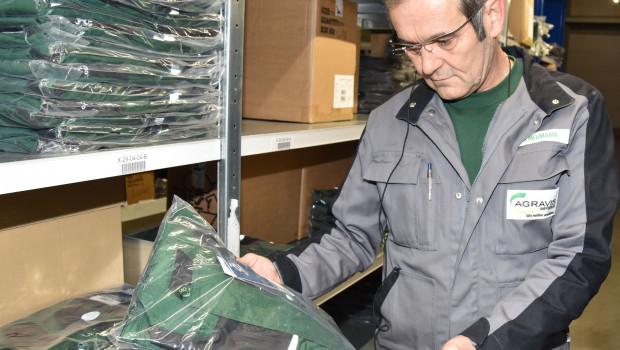 43 Gramm leicht ist die Datenbrille, mit der die Kommissionierer im Raiffeisen-Online-Shop der Agravis jetzt arbeiten.